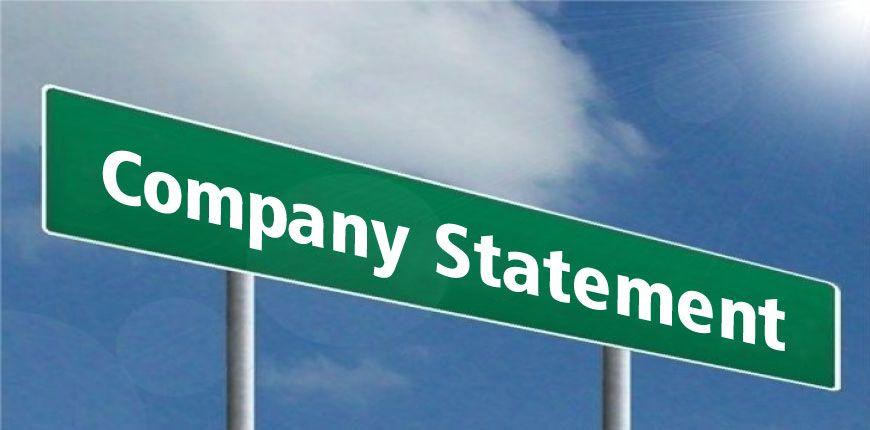 Company Statement